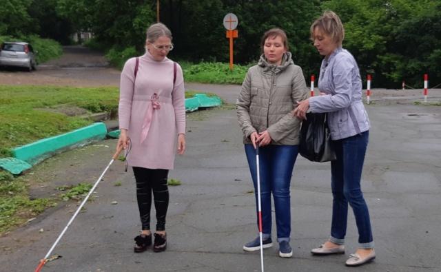 Thumbnail for - Трости для инвалидов по зрению